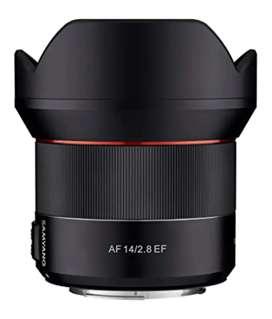 Lens Samyang 14mm 2.8f autofocus