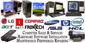 Computer reparing sevices @ Rs300/- to 500/-