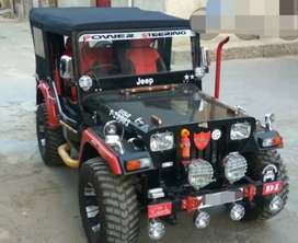 Willy modified open jeep