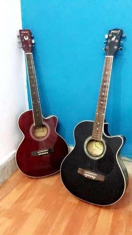 2 Acoustic Guitars - 1 US POLO Originals