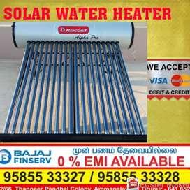 Solar water heater - 10 years warranty