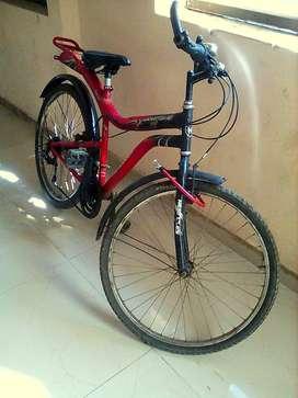 Hercules MTB 5 speed gear bicycle
