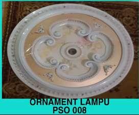 Ornamen lampu pvc cantik, ornament pvc lampu