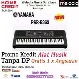 Keyboard Yamaha PSR - E363 Promo Kredit free 1x Cicilan