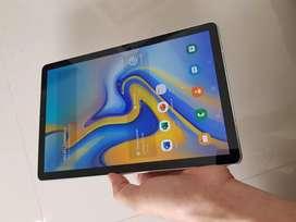 Samsung Tab S4 10,5 in 4/64 Cell Batangan Mulus Lus