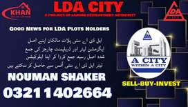 LDA City  residential files for sale in reasonable price