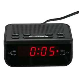 Jam Meja LED Digital Clock dengan FM Radio - CR-246