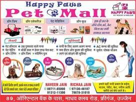 Pet food, accessories,medicines, hostal