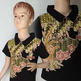 Kaos Anak Batik