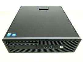 hp cpu i5 4th gen 4gb 500gb A++