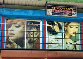 Beauty Parlour with fully furnished