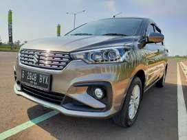All New Suzuki Ertiga GL 1.4 MT 2019 km 9 rb TDP_23jt Bekas Rasa Baru