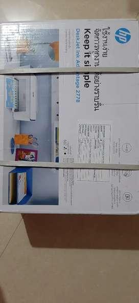 Hp desk jet ink printer 2778
