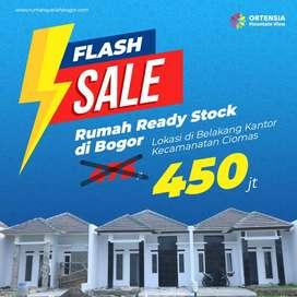Flash Sale Rumah Dijual Bogor Ready Stock