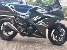 Ninja 250 2015 black