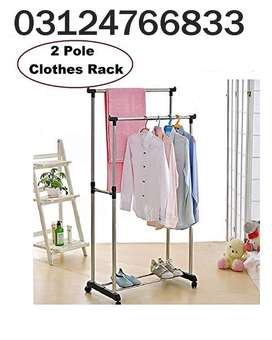 Double Pole Hanger things simple.If you're short for time, don't feel