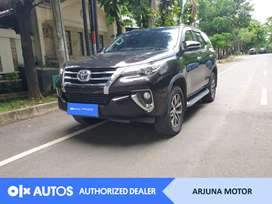 [OLXAutos] Toyota Fortuner 2016 2.4 VRZ Solar A/T Hitam #Arjuna Motor