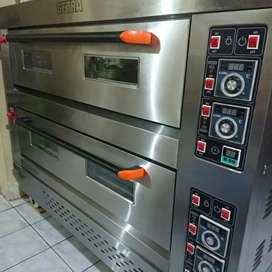 Mesin oven gas getra 2 deck 6 tray rfl-26ss murah