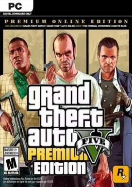 Game GTA 5 Premium Online Edition plus backup an data nya