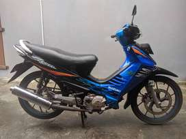 Shogun SP FD125XRM 2006 Blue Black Istimewa     RARE ITEM