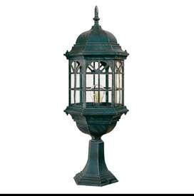 Lampu hias pilar outdoor