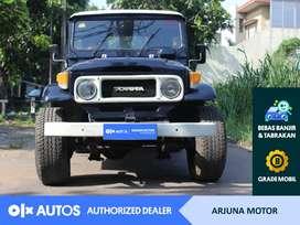 [OLX Autos] Toyota Land Cruiser 1980 Solar 3.0 M/T Biru #Arjuna Motor