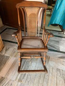 Pure teak wood rocker