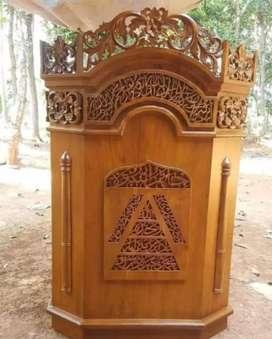 mimbar masjid murah kualitas bagus