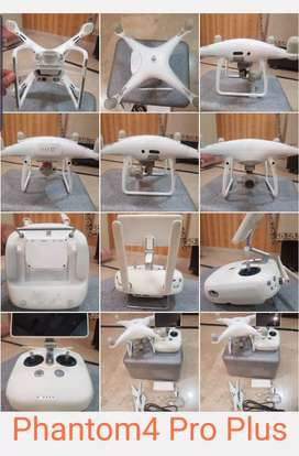 Dji phantom4 pro plus. With 2 battery