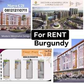 Ruko Burgundy Gandeng Cocok Minimarket  Summarecon Bekasi