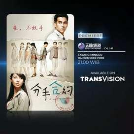 Promo super jernih pemasangan parabola Transvision HD murah 420rbu