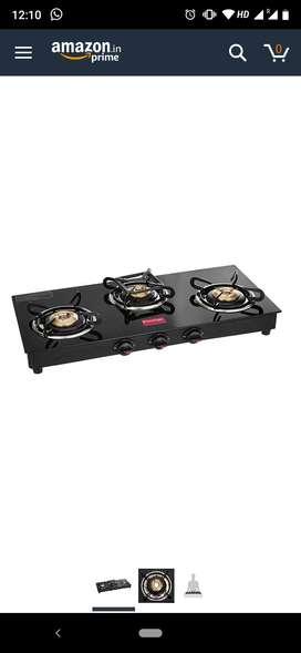 Prestige Marvel 3 burner gas stove