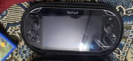 PSVITA with  three games