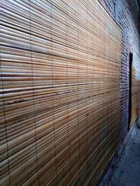 Jual tirai kulit bambu,tirai isi bambu,tirai rotan
