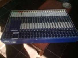Jual mixer 20ch/6 ors builup bagus mls siap pake murah