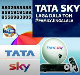 AIRTEL and TATA SKY NEW DTH CONNECTION LIMITED OFFERS