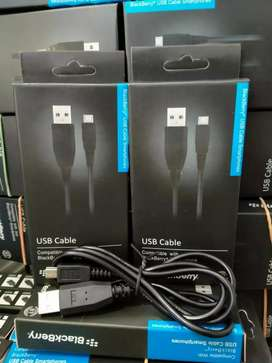 Kabel charger BB original Micro besar G900 Nexian / Speaker