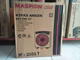 diantar cus kipas angin kotak/box fan Maspion JF2101t Suara Halus NEW