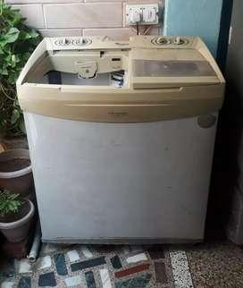 ₹3500 Whirlpool washing machine 7kg