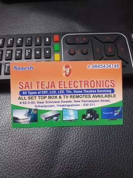 SAI TEJA ELECTRONICS, all brands LED TV'S SERVICE