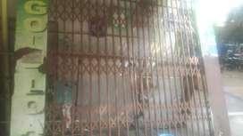 Iron channel slidind gate.10×8 feet