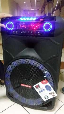 "equalizer speaker 15"" +2mic wireless mantap"