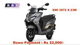 Get Suzuki Burgman Street, with Low Down Payment