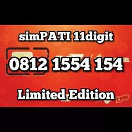 Nomor sakti combo Telkomsel simPATI 11dgt berkarakter spesial 154