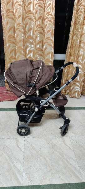 R for Rabbit Stroller Pram for Kids