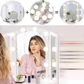 Vanity Mirror Lights Pack of 10 Light 3 Different Shades Free Delivery