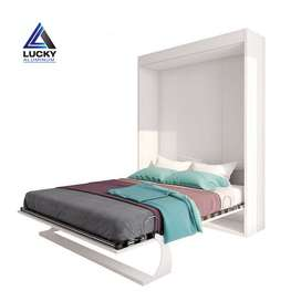 Double Bed Wall Bed Murphy Bed Folding Bed At LuckyHome.PK