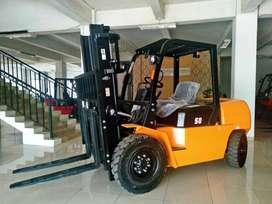 Forklift di Way Kanan Murah 3-10 ton Mesin Isuzu Mitsubishi Powerful