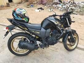 A powerful 223cc big bore heavily modified Yamaha FZ for sale