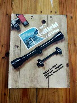 Katalog Scope Antik Redfield USA thn 1975